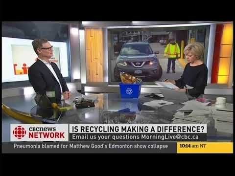 Part 2 - Canada Fibers on CBC Morning Live with Heather Hiscox
