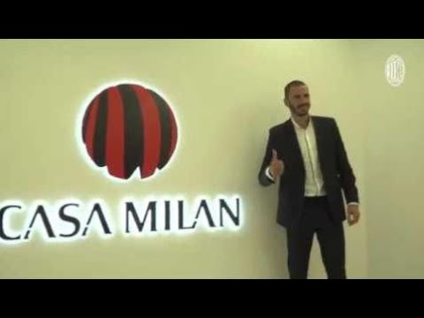 Official: Leonardo Bonucci joining AC Milan!!!