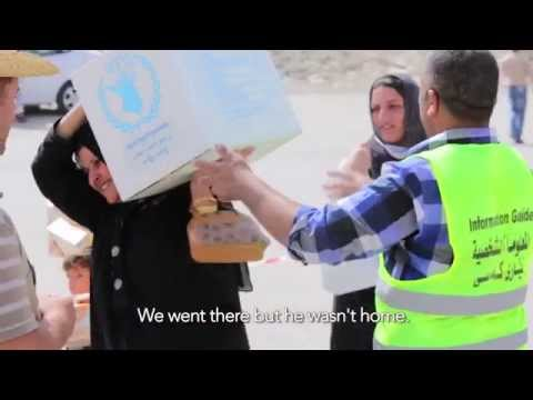 World Food Programme distribution in Erbil, Iraq