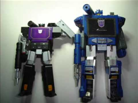 TRANSFORMERS Soundwave/Soundblaster MP3 Player Music Label TOMY TAKARA