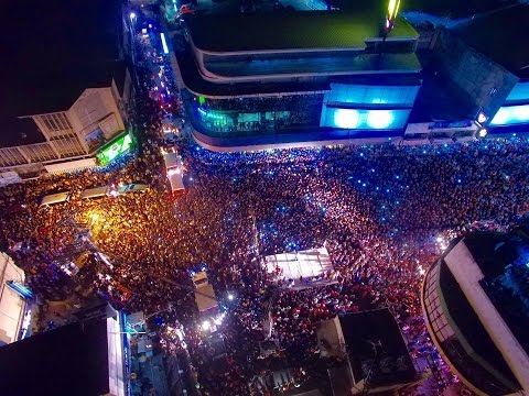 DUTERTE IN TAGBILARAN 30,000 SUPPORTERS - BOHOL SHOOTERS UNITED