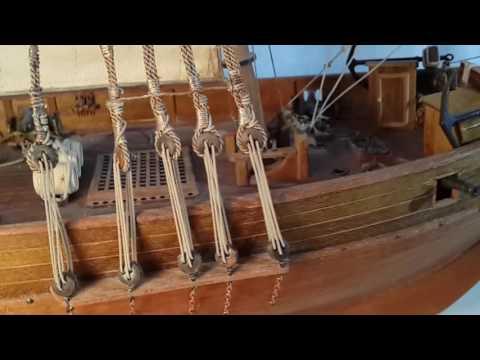 как сделать корабль из дерева