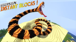 """Présentation du mod """"INSTANT BLOCKS""""! - Le MEGA utilitaire ! [1.7.10]"""