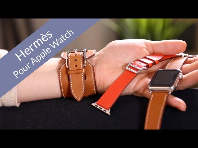 034453e0e6b Test des bracelets HERMES pour Apple Watch - YouTube