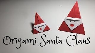 How To Make Origami Santa Claus   #OrigamiSantaClaus