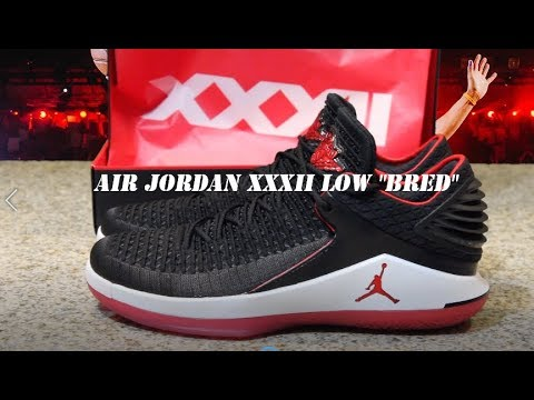 07c3d470f4b06 Air Jordan XXXII Low Bred Shoe Review - YouTube