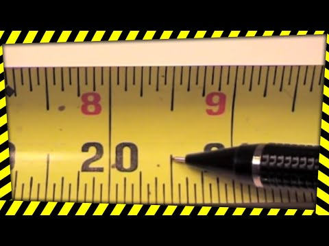 Tape Measure Use, Markings, Fractions, Etc. How To Read A Tape Measure. V1