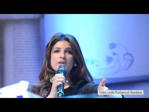 Twinkle Khanna opens up about her personal life at the TimesLitFest 2015