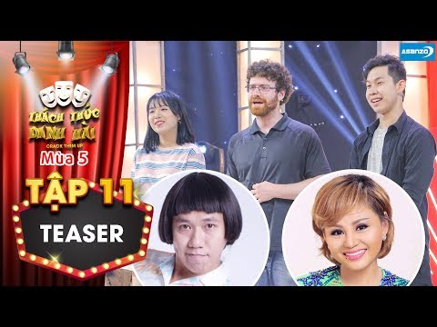 Thách thức danh hài 5| Teaser tập 11: Nam thí sinh