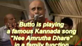 BUTTO'S BANSURI INDIAN FLUTE Nee Amrutha Dhare