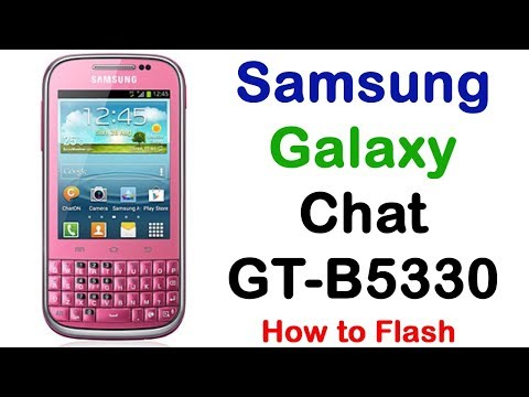 How To Samsung Galaxy Chat GT-B5330 Firmware Update (Fix ROM)