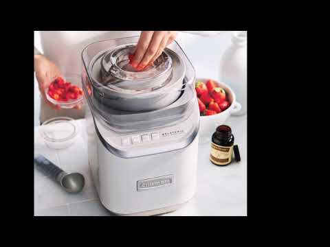 Cuisinart Gelateria Ice Cream Maker Reviews