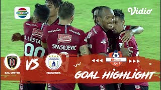 Bali United (1) vs Persipura Jayapura (1) - Goal Highlights | Shopee Liga 1