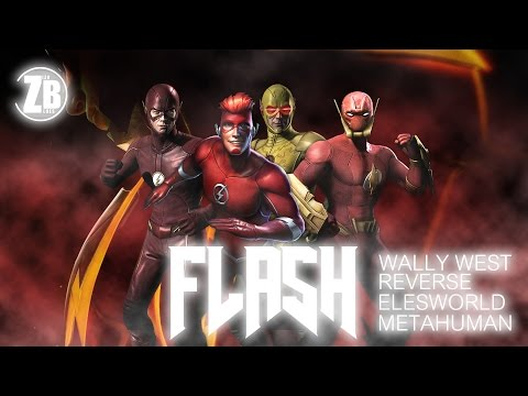 Who is the best flash ! Wally west vs. Metahuman flash vs. Reverse flash vs. Elseworld flash