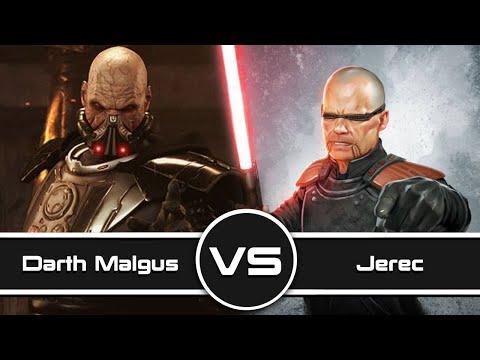 Versus Series: Darth Malgus Vs. Inquisitor Jerec