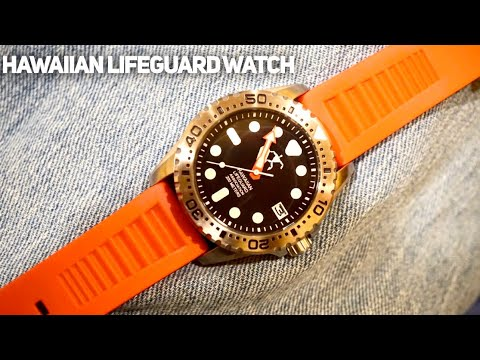 Hawaiian Lifeguard Association Watch Review - Tough Everyday Diver Under $300