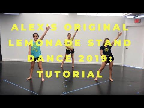 Alex's Original Dance Instruction 2019