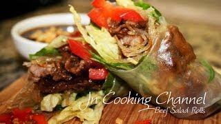 Jn Beef Salad Rolls - Bo Cuon