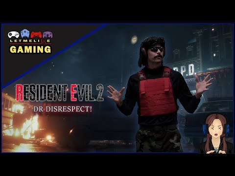 Dr Disrespect saves Raccoon City in these two Resident Evil mods | PC Gamer