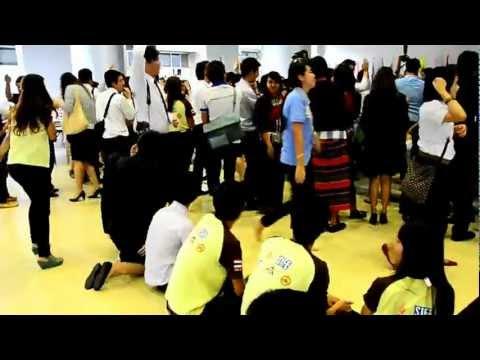 กิจกรรมละลายพฤติกรรม SIFE Thailand Exposition 2012/3