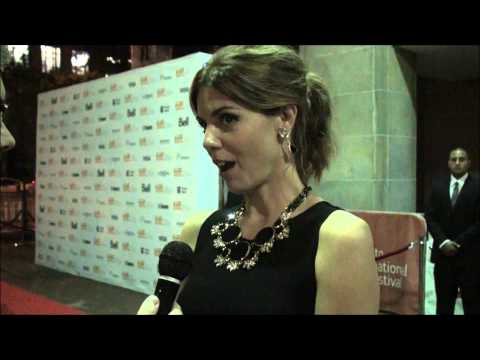 [REC]4 APOCALYPSE Red Carpet Interviews With Jaume Balaguero & Manuela Velasco
