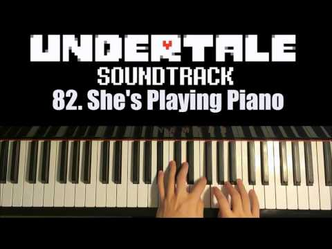 Undertale OST - 82. She's Playing Piano (Piano Cover By Amosdoll)