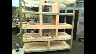 Budowa Klatki Dla Królików / How To Build A Rabbit Cage