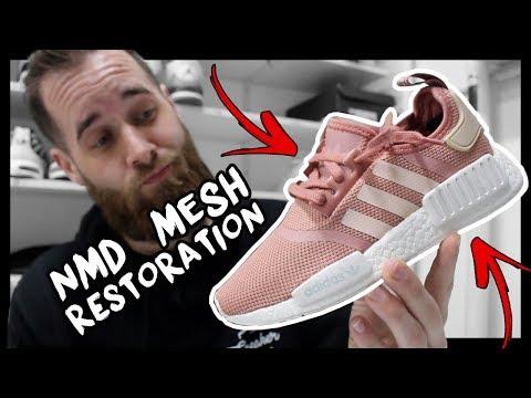 ADIDAS NMD R1 PINK MESH RESTORATION!