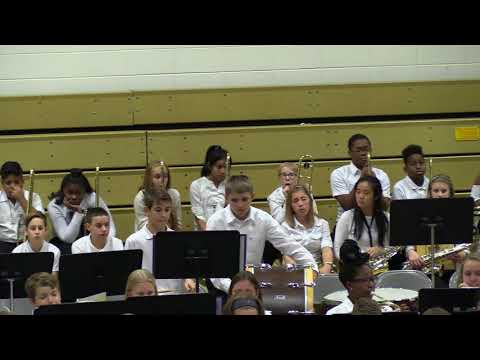 LaSalle Springs Middle School Band Concert 1