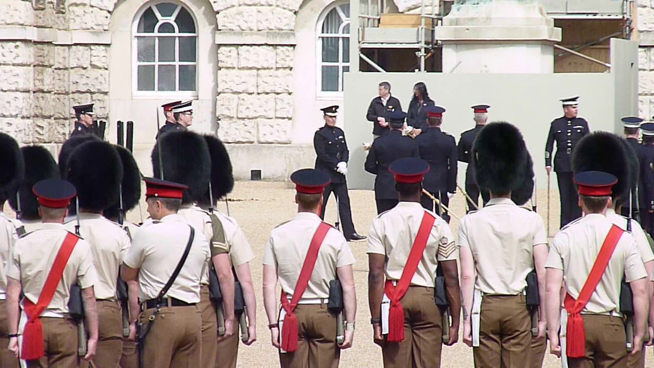 Rehearsal for the Trooping the Colour 2019 21