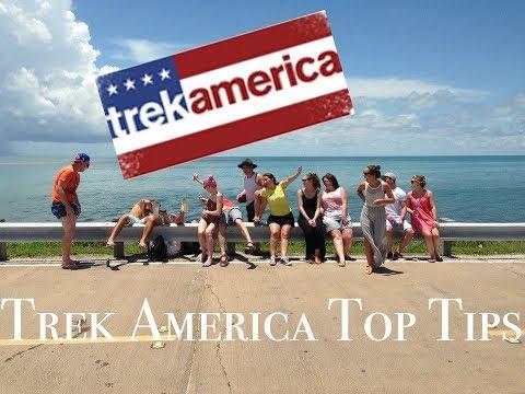 TREK AMERICA TOP TIPS | TRAVEL TIPS