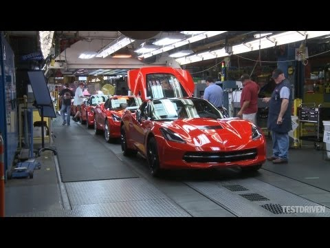 Chevrolet Corvette Stingray Assembly Plant