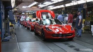 2014 Chevrolet Corvette Stingray Assembly Plant