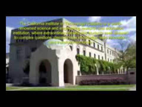 California Institute of Technology Caltech University USA For Study Campus