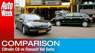Occasion Dubbeltest - Citroën C6 vs Renault Vel Satis