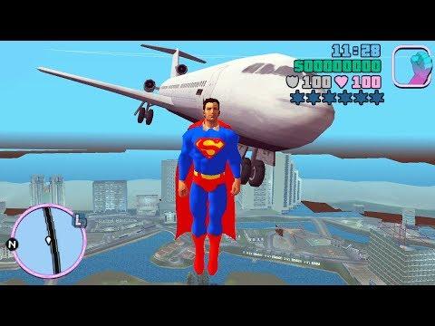 GTA Vice City Best Mods 10 Superman, Bike Cheats, Hunter, HD Mod