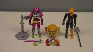 SO-DO Kamen Rider Ex-Aid Lvl 2, Burger Gamer, & Bugster Virus Triple-Review (Kamen Rider Ex-Aid)