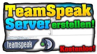 TeamSpeak 3 Server erstellen! • Einfach, Kostenlos &. OHNE Hamachi! - Tutorial
