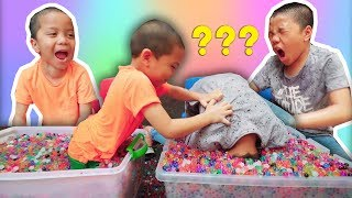 SAMPE NYEMPLUNG! Challenge Cari Barang Dalam Orbeez VS Muntaz Halilintar MP3