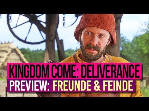 KINGDOM COME: DELIVERANCE 🎮 Preview 2: Kacke werfen & Familienbande