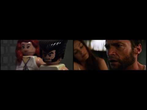 The Wolverine Lego Trailer Comparison
