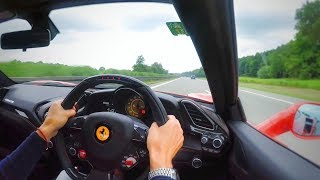Attempting 200mph In A Ferrari 488