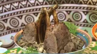 Якутские блюда в необычной подаче