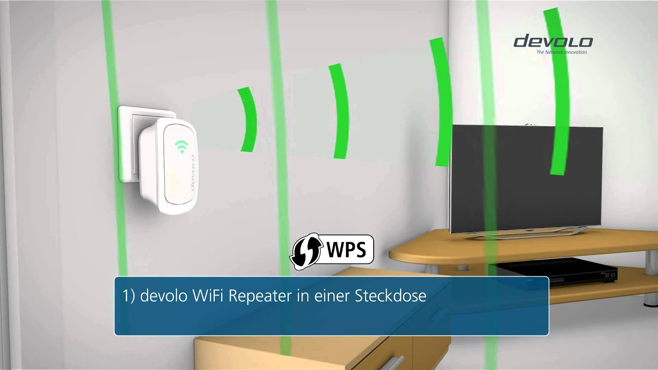 devolo wifi repeater deutsch youtube. Black Bedroom Furniture Sets. Home Design Ideas