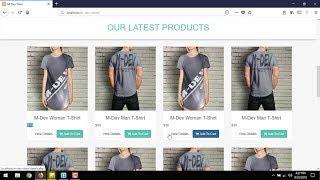 Erstellen Sie E-Commerce-Website-Tutorial : P-5 Erstellen Sie Produkt-Schaufenster