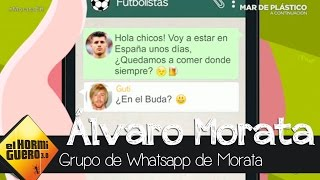 Trancas y Barrancas se cuelan en el grupo de Whatsapp de Morata - El Hormiguero 3.0