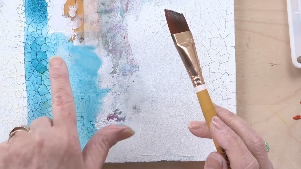Acrylic Painting Techniques Creative Textures DVD with Chris