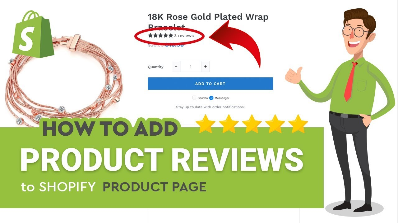 [Product Reviews] How to add product reviews into Shopify product page for FREE!