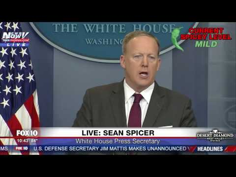 FULL: Sean Spicer Press Briefing  4/24/17 FNN