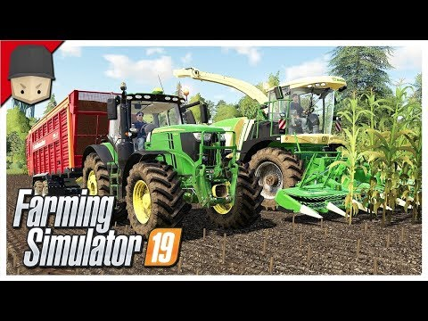 FORAGE HARVESTER & BUYING NEW LAND! : Ep.14 (Let's Play Farming Simulator 19)